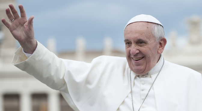"POPE FRANCIS ""WAKE UP!"": il debutto discografico di Papa Francesco"