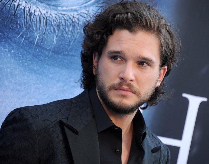 "Kit Harington: ""Jon Snow non ha il senso dell'umorismo"""
