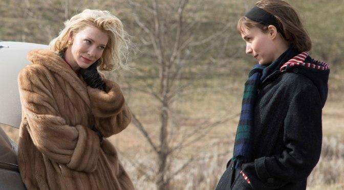 Carol. Rooney Mara e Cate Blanchett a Londra per la premiere. Ma che caratteraccio!
