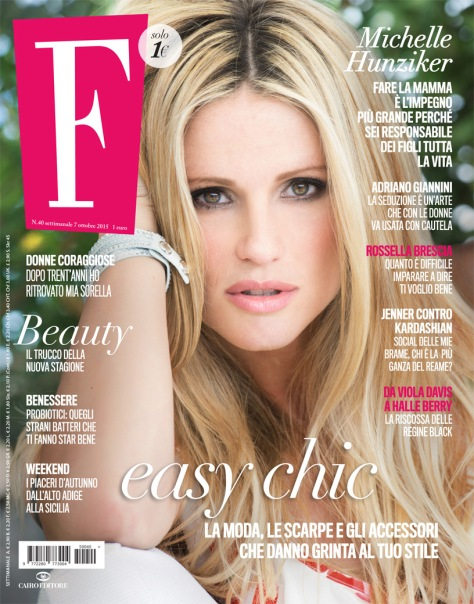 michelle hunziker cover F