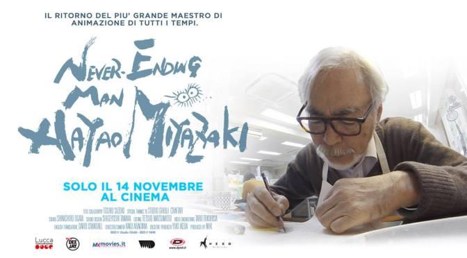 14 novembre: da non perdere l'appuntamento al cinema con Hayao Miyazaki