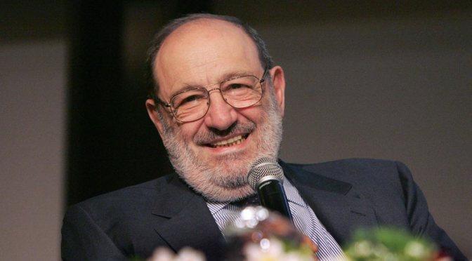Umberto Eco, a due anni dalla morte